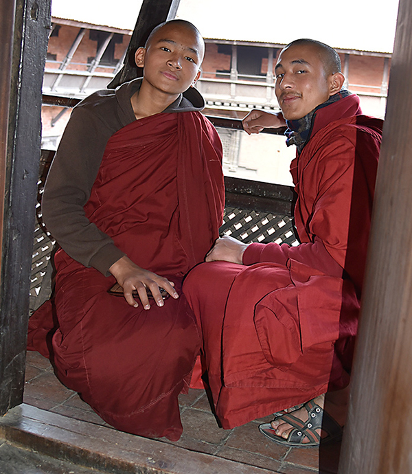 Monks with Cell Phones