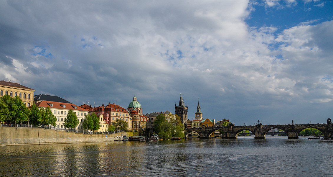 Vltava River in Prague